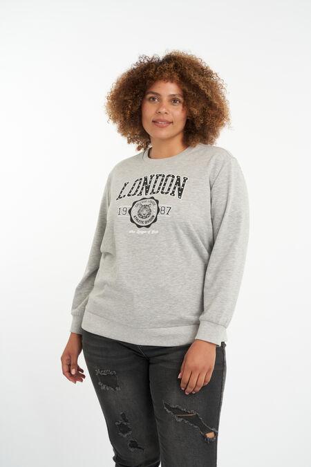 Suéter con diseño impreso