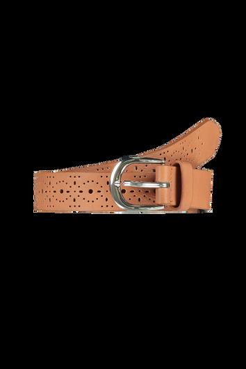 Cinturón con diseño perforado