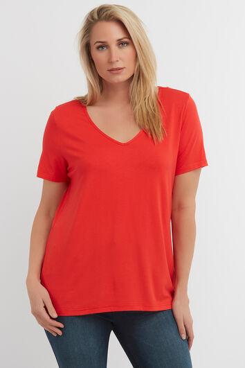 Camiseta de color liso