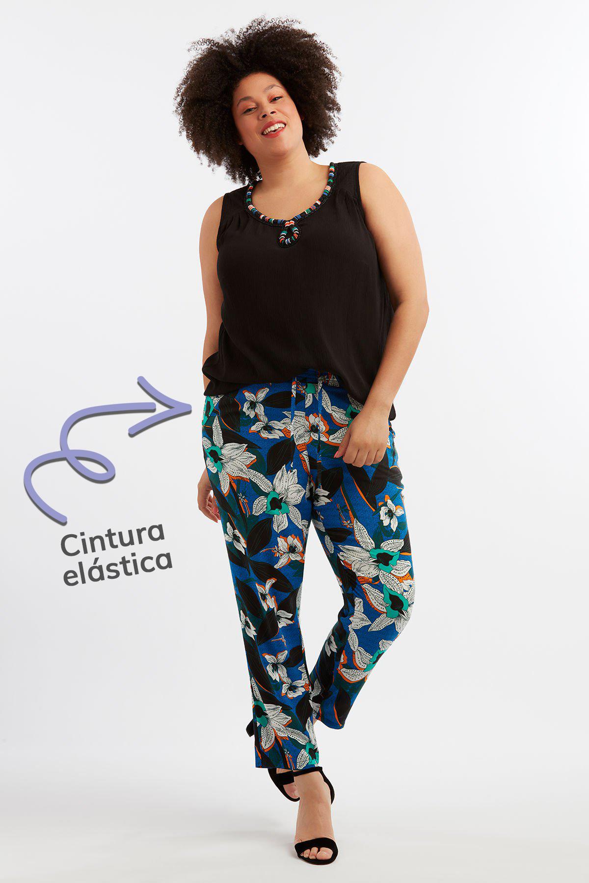 Pantalones de verano modelo completo