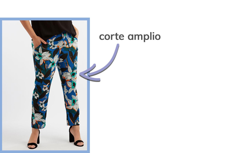 detalle de pantalones de verano